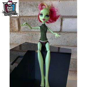 Monster High Fitness Venus Mcflytrap Doll